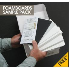 Foamboards Sample Pack