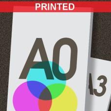 A0 Printed Foamboard