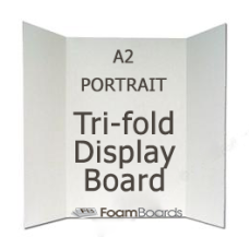 TRI-FOLD A2- P- DISPLAY BOARD