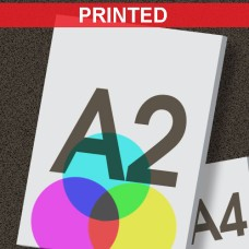 A2 Printed Foamboard