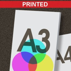 A3 Printed Foamboard