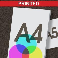 A4 Printed Foamboard