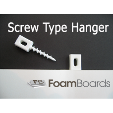 Foamboard Screw Hanger