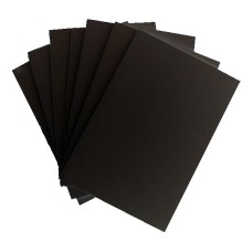 Black Mat Board Full Sheets