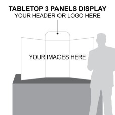 TABLE-TOP-THREE-PANEL-DISPLAY-BOARD