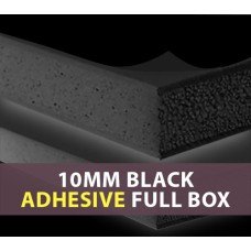 10MM Black ADHESIVE Foam Board Full Box