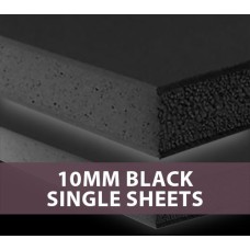 10MM Black Foam Board Single Sheets