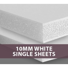 10MM White Foamboard Single sheets