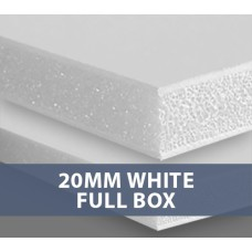20MM White Foamboard Full Box