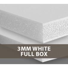 3mm White Foamboard Full Box