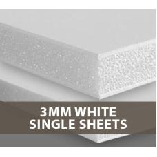 3MM White Foamboard Single sheets