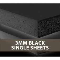 3MM Black Foamboard Single Sheets