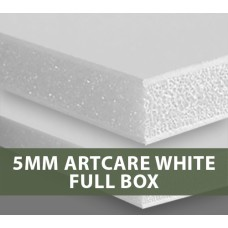 5MM ARTCARE White Foamboard Full Box