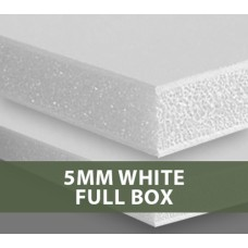 5MM White Foamboard Full Box