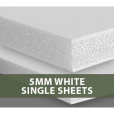 5MM White Foamboard Single Sheets
